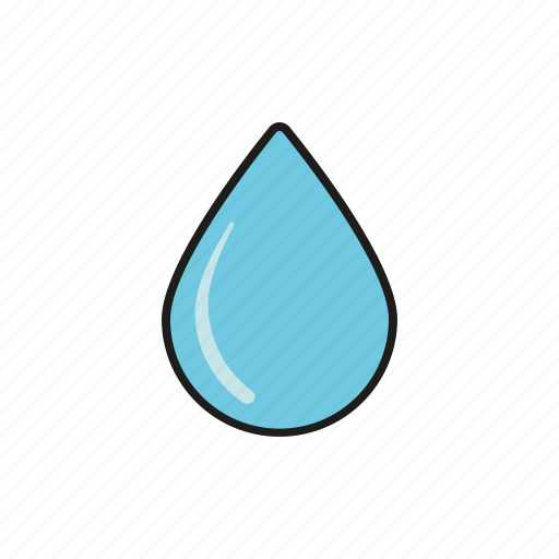 climate, drop, meteorology, rain, water, weather icon