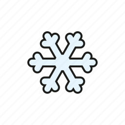 climate, frost, meteorology, snow, snowflake, weather icon