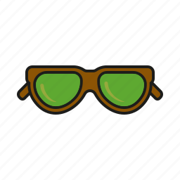climate, meteorology, shades, sunglasses, weather icon