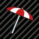 climate, meteorology, parasol, sunshade, sunshine, weather icon