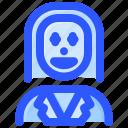 avatar, character, clown, joker, villain