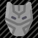 cinema, marvel, mask, panther, black panther icon