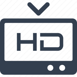 film, format, hd, home, movie, television, tv icon