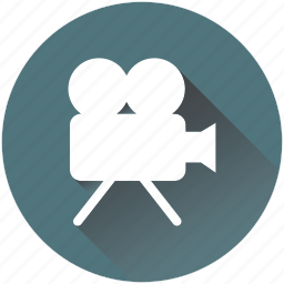 camera, cinema, film, movie, play, projector, recording icon