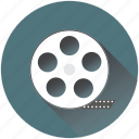 cinema, film, iconfinder, movie, production, recording, reel icon