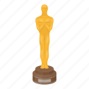 academy, award, cinema, statuette icon
