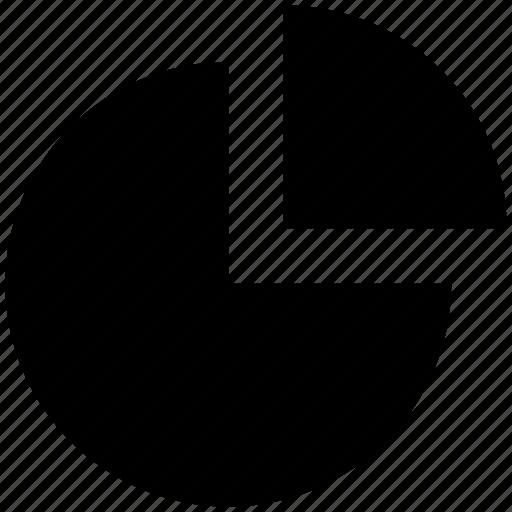 business, chart, finance, graph, pie, pie chart icon
