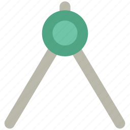 compass, drawing tool, geometric, geometrical compass, graphic, tool icon