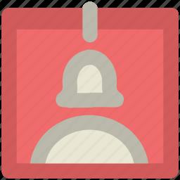 badge, card, female id card, id, identification, identity card icon