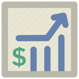 business analysis, business chart, business growth, chart, financial chart, graph, growth chart icon