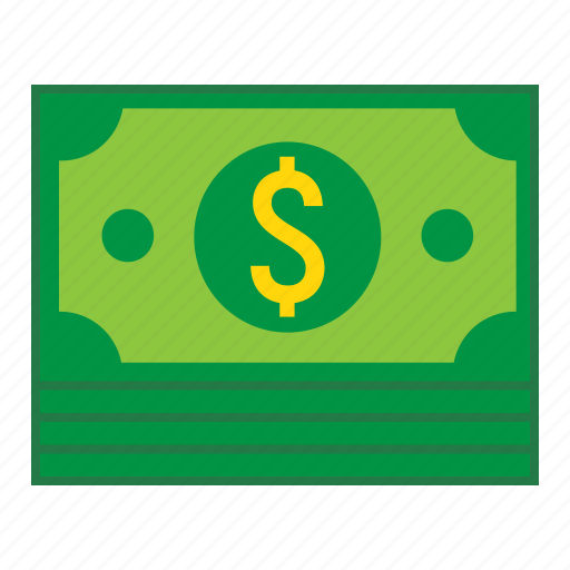 bundle, business, cash, currency, dollar, finance, money icon