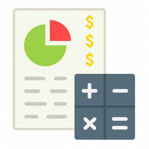 budget, business, calculate, economy, finance, plan, planing icon