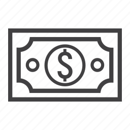 business, cash, currency, dollar, finance, money, tax icon