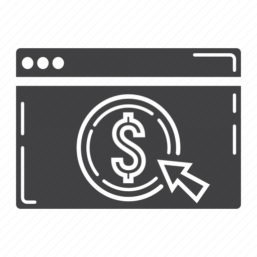 banking, business, dollar, e-commerce, finance, internet, online icon