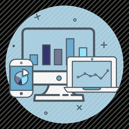 data, desktop, desktop computer, devices, laptop, live, mobile icon
