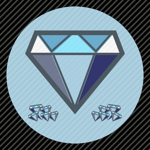 diamond, diamonds icon