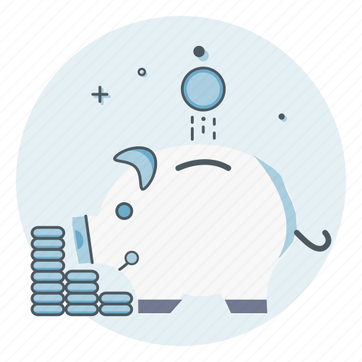 bank, piggy, save, savings icon