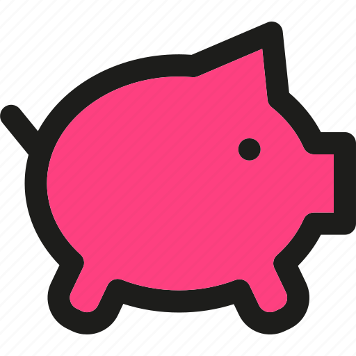 bank, coin, currency, finance, money, payment, piggy icon