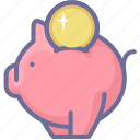 discount, money box, offer, save, special offer icon