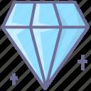 diamond, valuable, vip icon