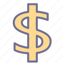 currency, money, usd icon