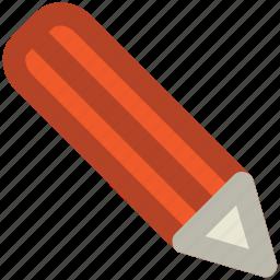 compose, edit, lead pencil, pencil, stationery, write icon