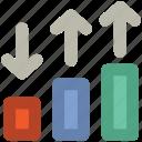 analytics, bar chart, business chart, chart, diagram, graph