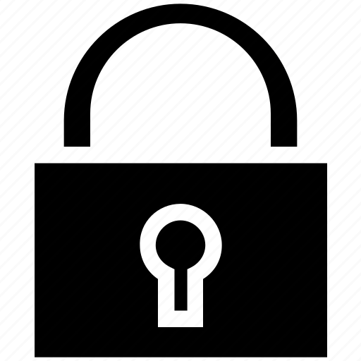 business, finance, lock, protect, safety, security icon
