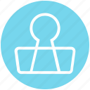 business, clip, finance, marketing, office, paper clip icon
