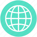 business, earth, finance, globe, international, world icon