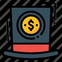 capital, capitalism, finance, money, venture icon