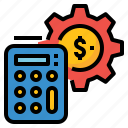 bank, cost, finance, money, salary, wages icon