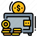 deposit, finance, growth, profit, savings icon