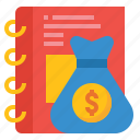 annual, earnings, finance, income, profit icon