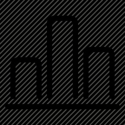 analytics, bar, chart, data, graph, statistics icon