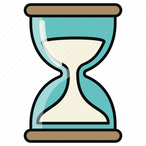 business, clock, commerce, finance, financial, hourglass, time icon