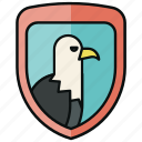 financial rights, law, protection, protection of rights, safe, security, shield icon