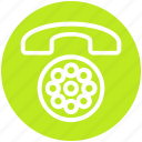call, contact, finance, landline, phone, telephone icon