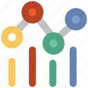 analytics, bar chart, business chart, chart, diagram, graph icon