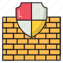 protection, shield, finance, security, wall