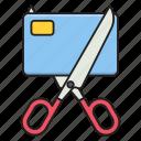 scissor, tax, finance, cut, pay
