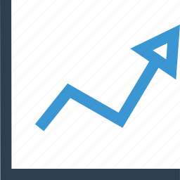 business, graph, market, sales, stock icon