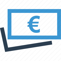 euro, money, revenue, sign, wealth icon