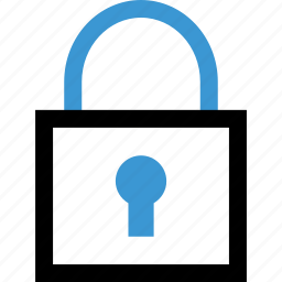 good, lock, locked, safe, secured icon