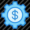 gear, money, finance, currency, marketing, setting