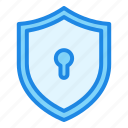 shield, security, protection, lock, safety, locked, key