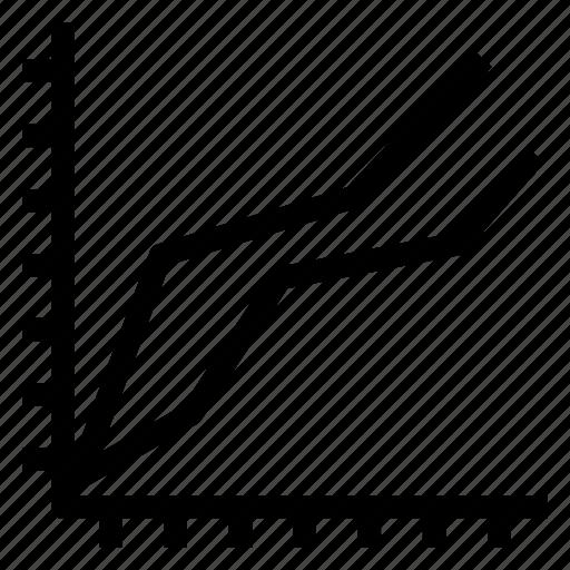 bar, chart, finance, graph, report, statistics, • analysis icon
