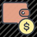 wallet, purse, money, dollar, coin, savings, account
