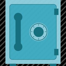 box, deposit box, protection, safe, safety, strongbox icon