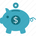 budget, pigggy bank, savings icon